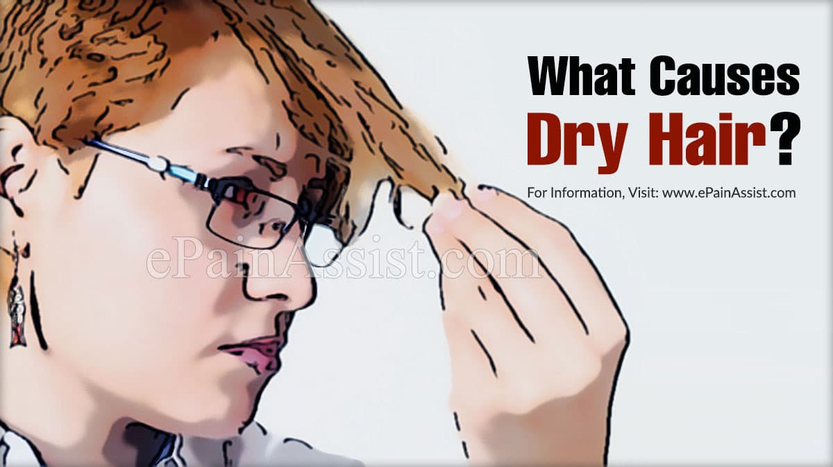 What Causes Dry Hair?