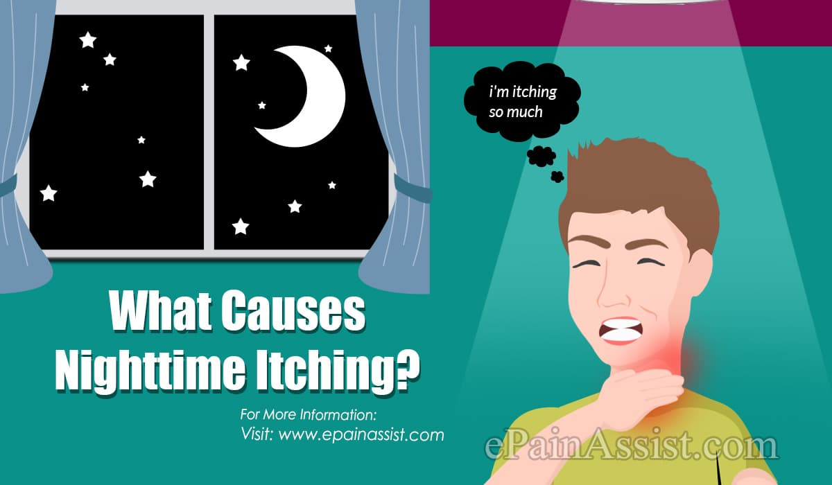 What Causes Nighttime Itching?