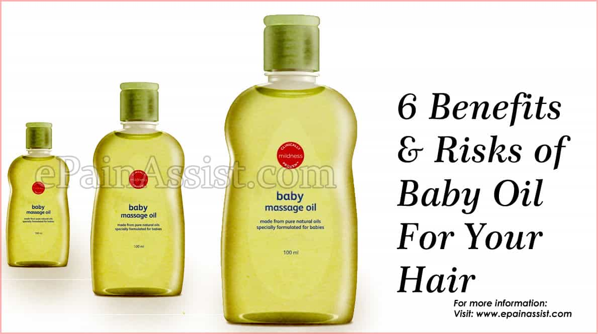 Benefits of Baby Oil For Hair