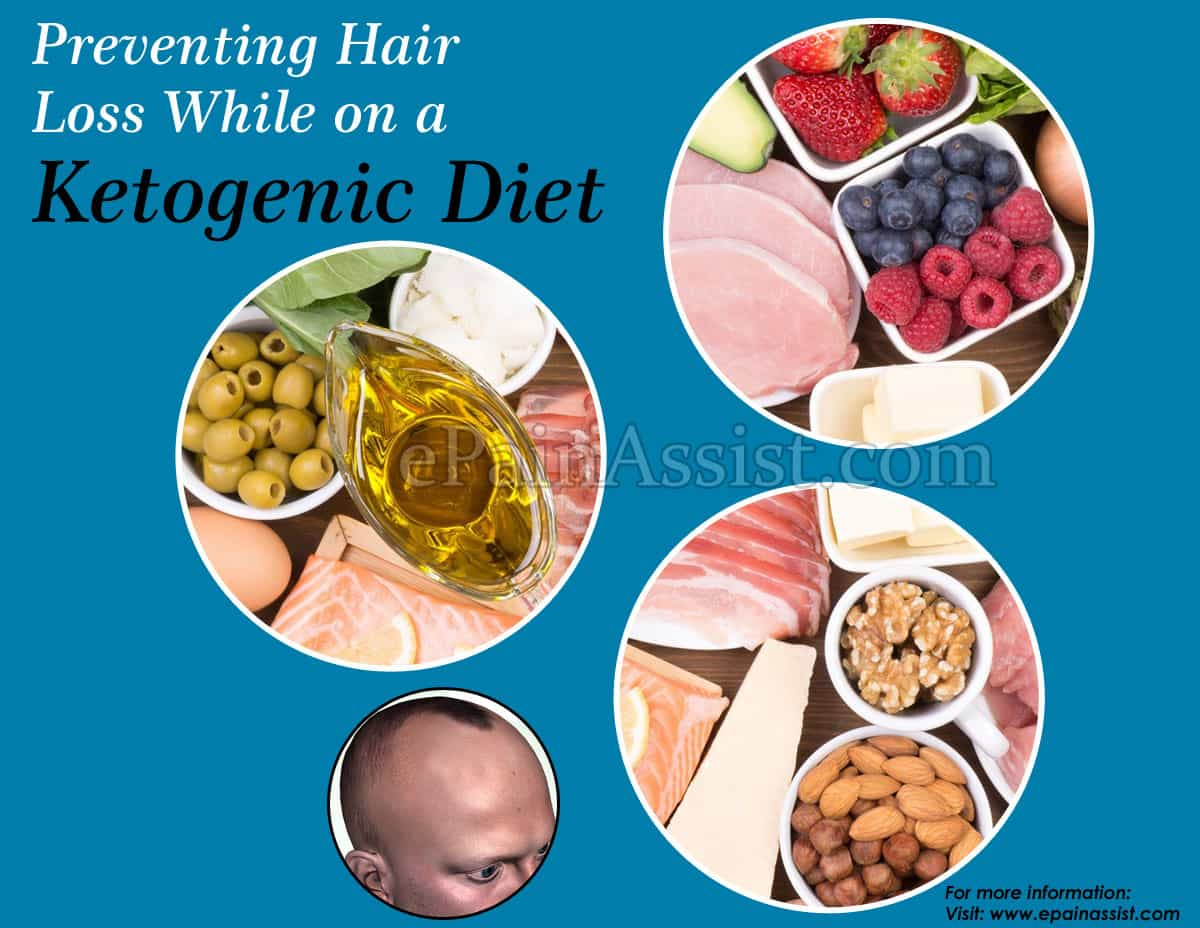 Prevent Hair Loss While On Keto Diet