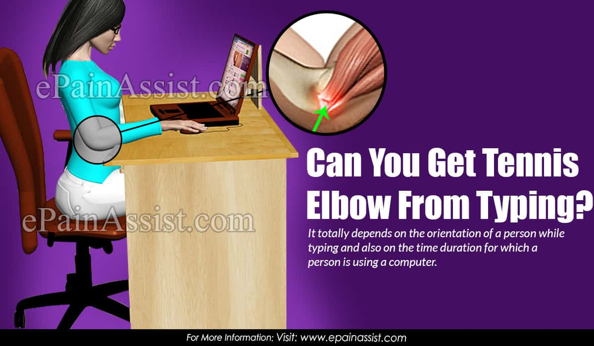Can You Get Tennis Elbow From Typing?