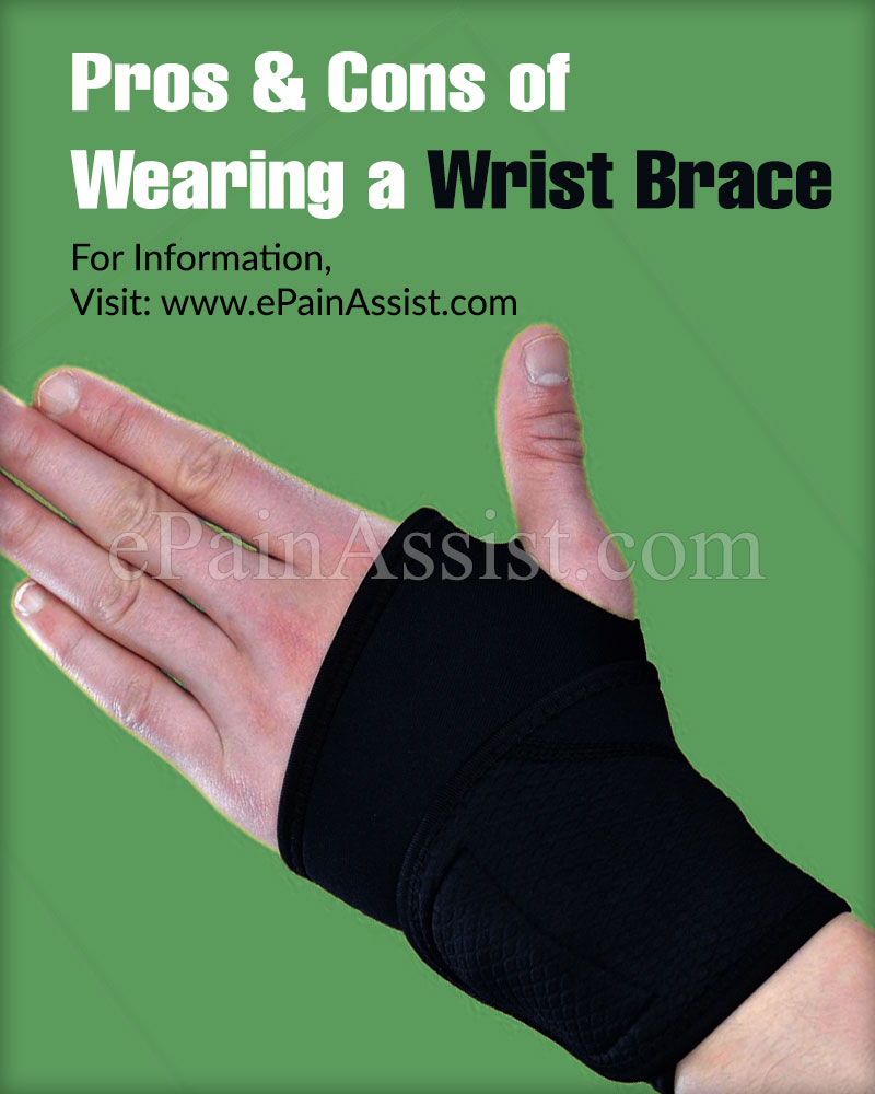 Pros & Cons of Wearing a Wrist Brace