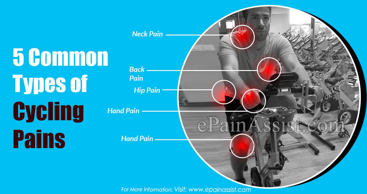 5 Common Types of Cycling Pains, Its Causes & Treatments