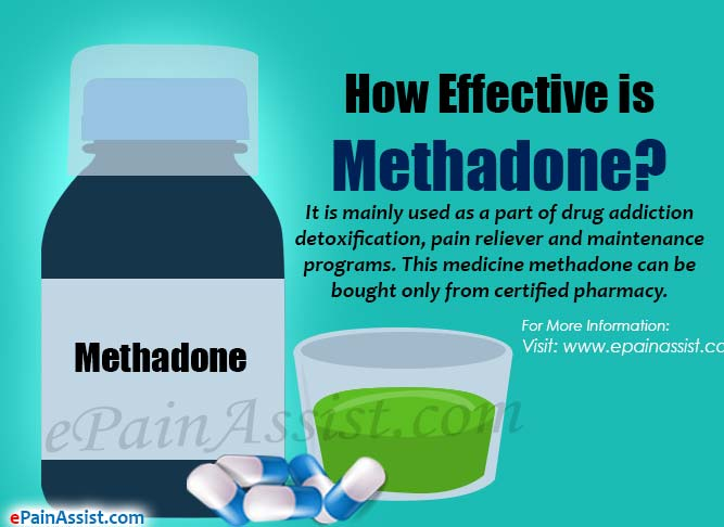 How Effective Is Methadone Amp What Are It S Side Effects