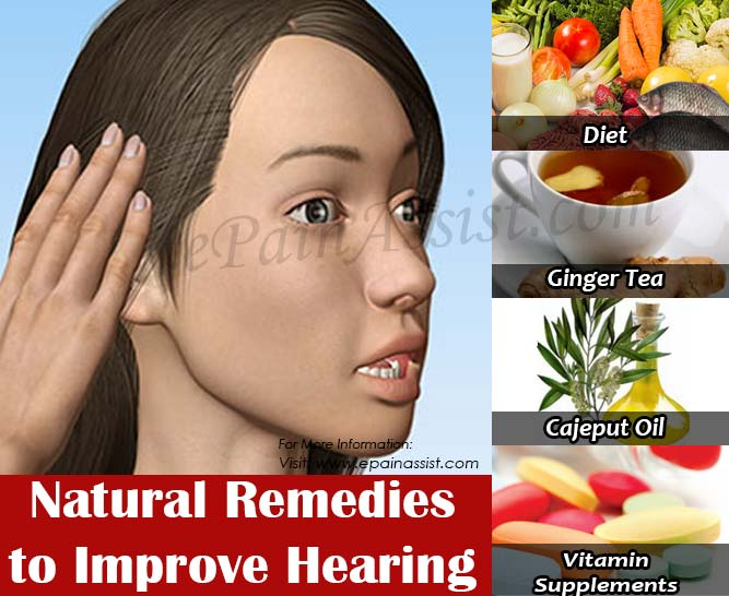 Natural Remedies to Improve Hearing