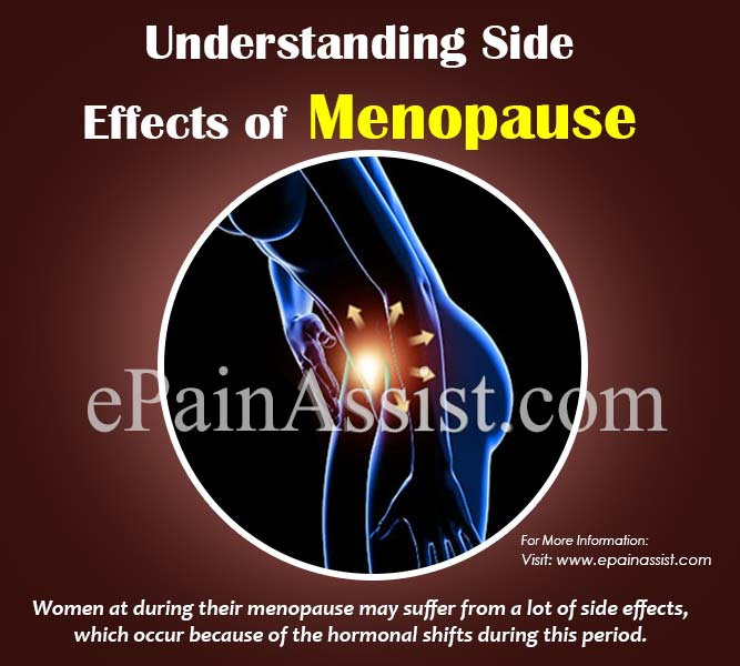 Understanding Side Effects of Menopause!