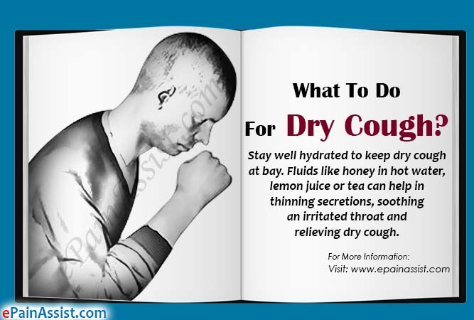 What To Do For Dry Cough?