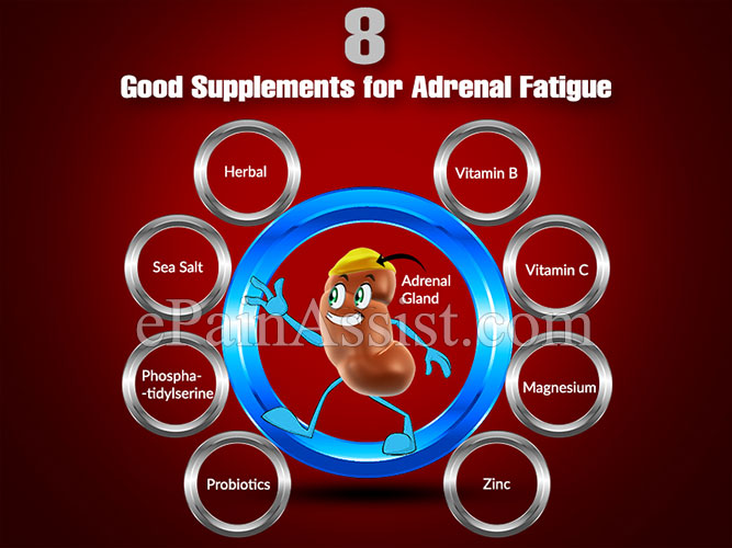 8 Good Supplements for Adrenal Fatigue