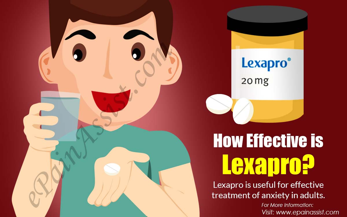 How Effective is Lexapro?