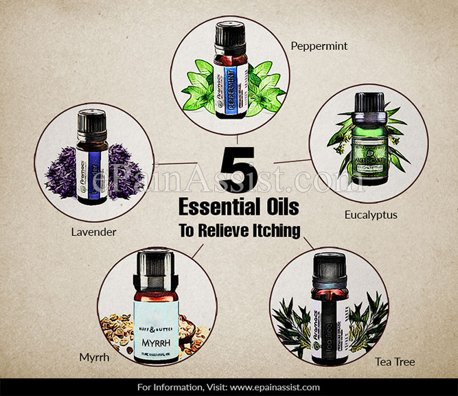 5 Essential Oils To Relieve Itching