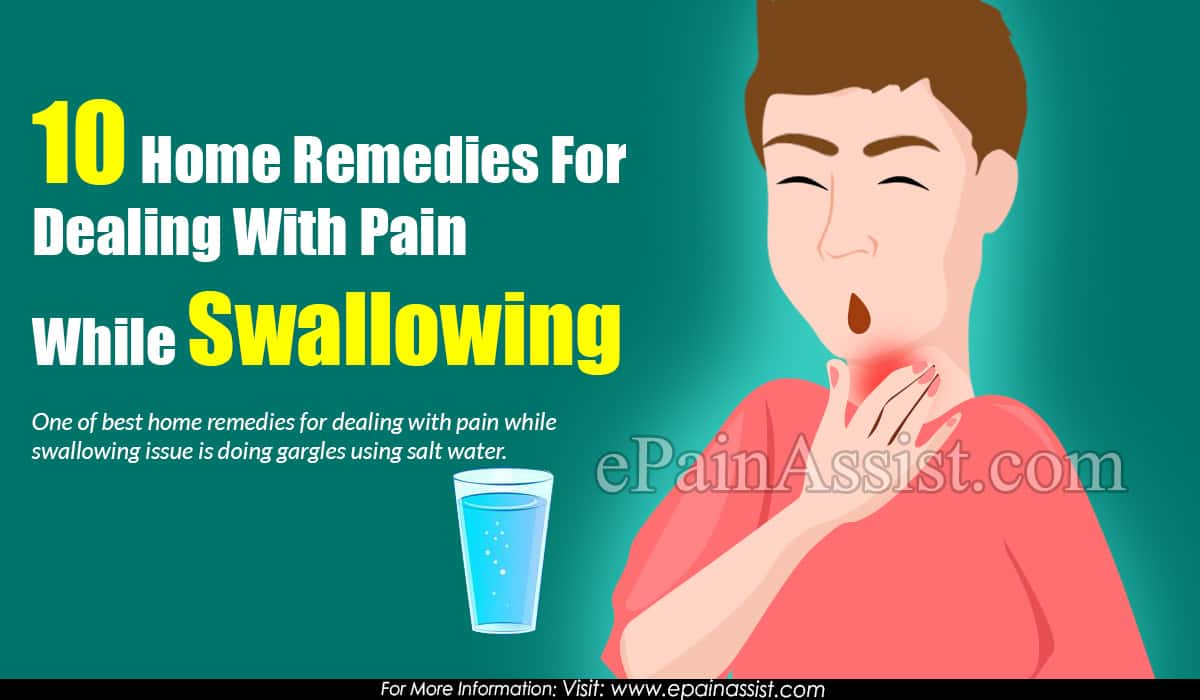 10 Home Remedies For Dealing With Pain While Swallowing