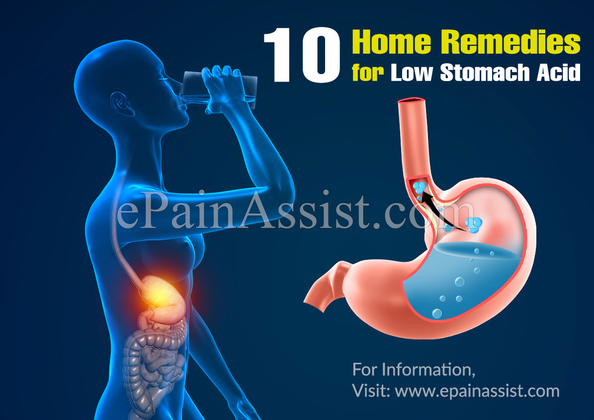 10 Home Remedies for Low Stomach Acid