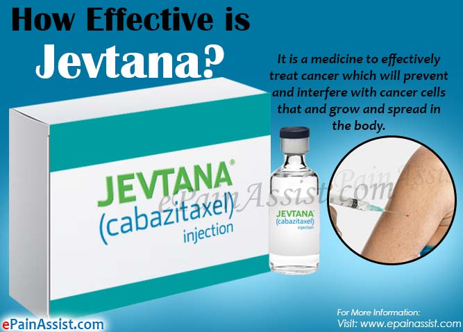 How Effective is Jevtana & What are its Side Effects, Dosage?