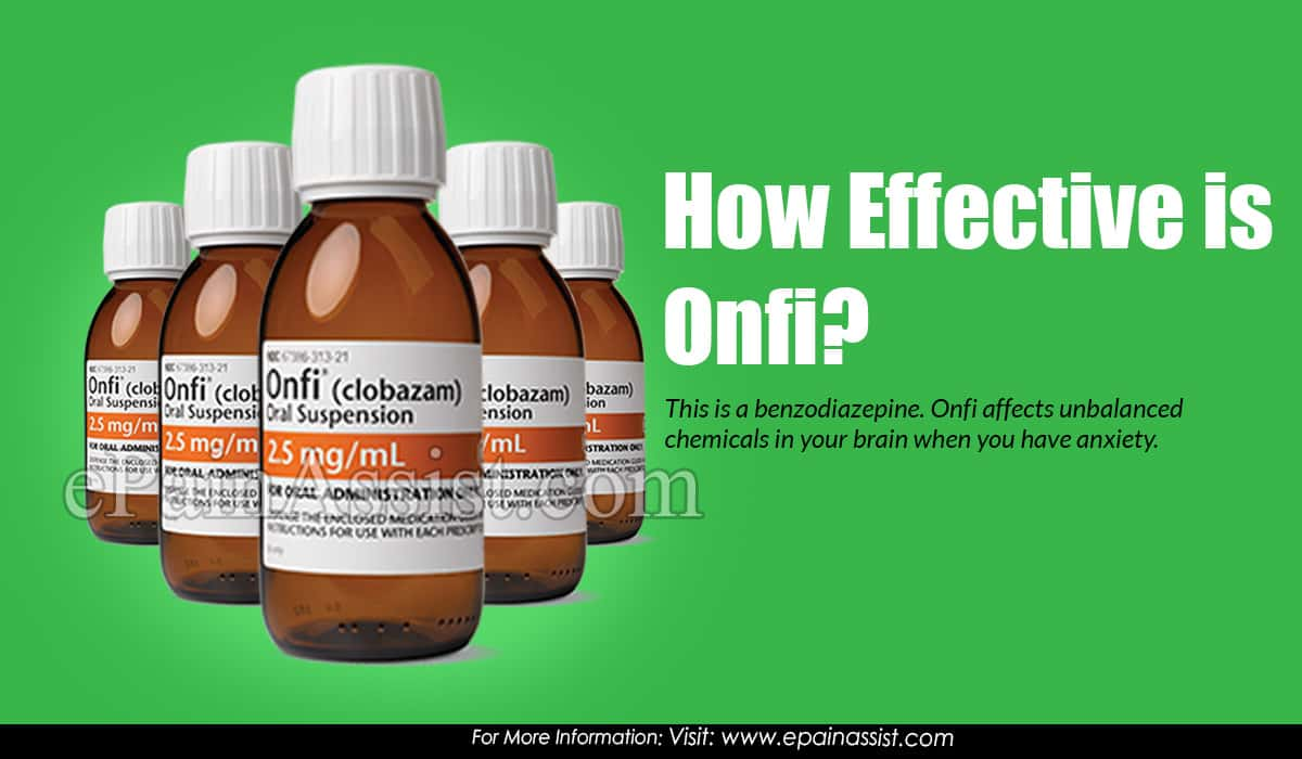 How Effective is Onfi and what are It's Side Effects