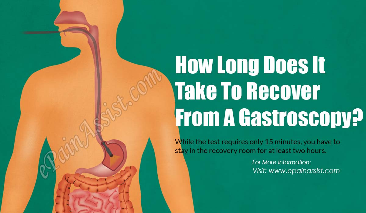 How Long Does It Take To Recover From A Gastroscopy?