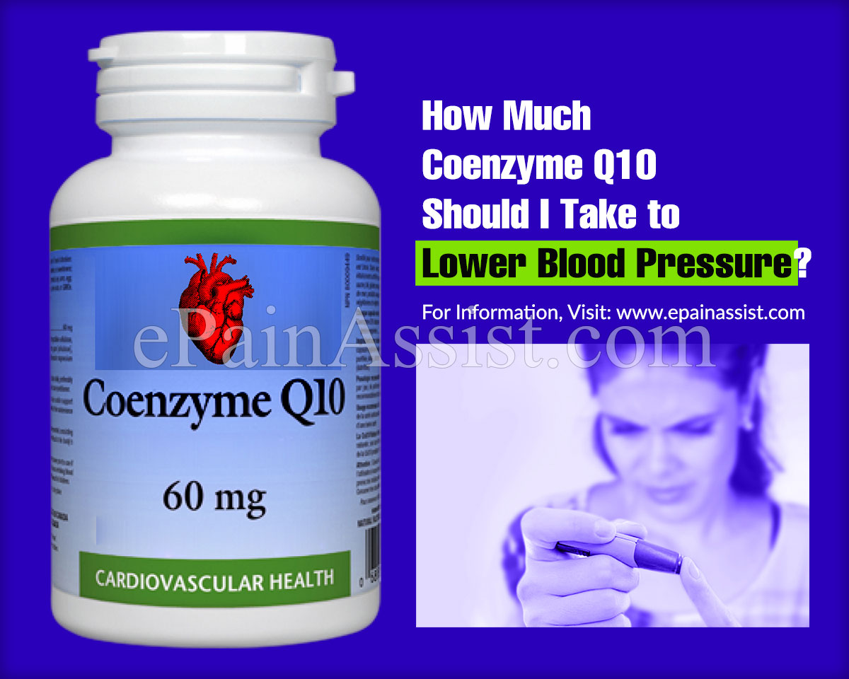 How Much Coenzyme Q10 Should I Take to Lower Blood Pressure?