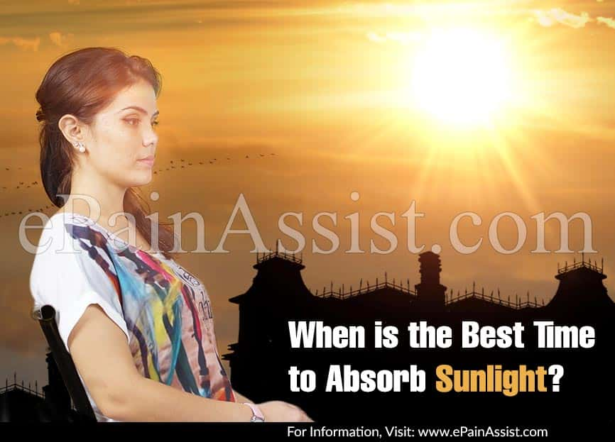 When is the Best Time to Absorb Sunlight?
