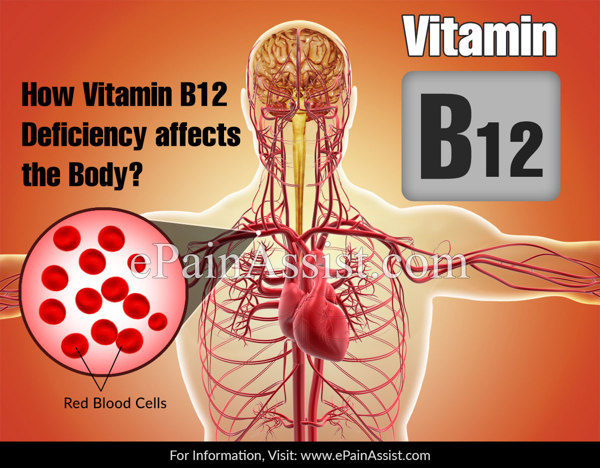 How Vitamin B12 Deficiency Affects The Body?