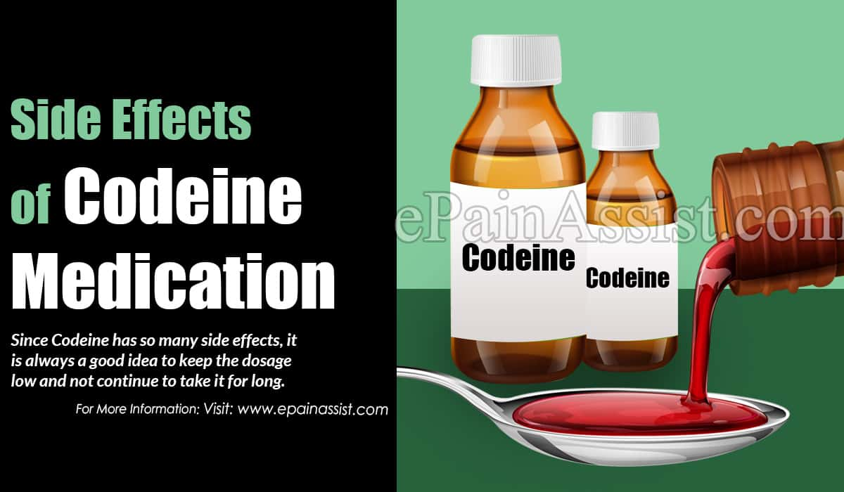 Side Effects of Codeine Medication