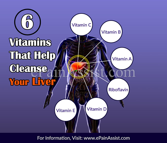6 Vitamins That Help Cleanse Your Liver