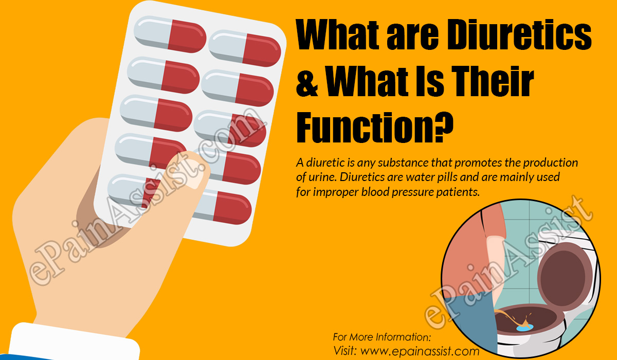 What are Diuretics & What Is Their Function?