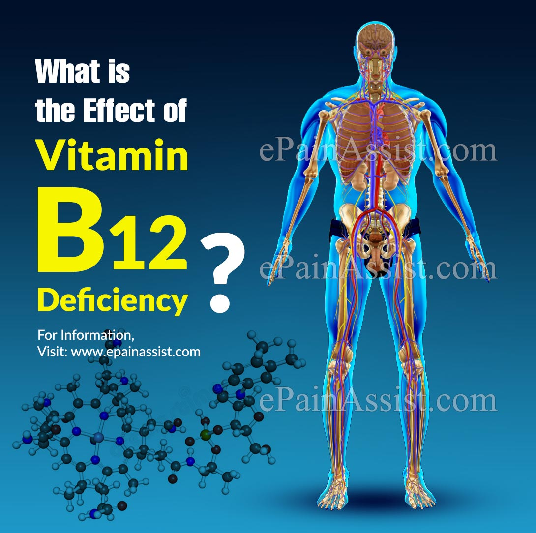 What is the Effect of Vitamin B12 Deficiency?