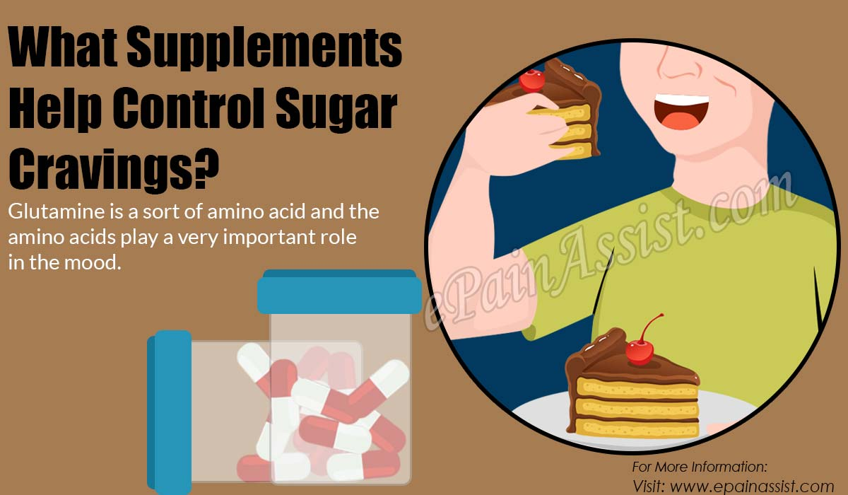 What Supplements Help Control Sugar Cravings?