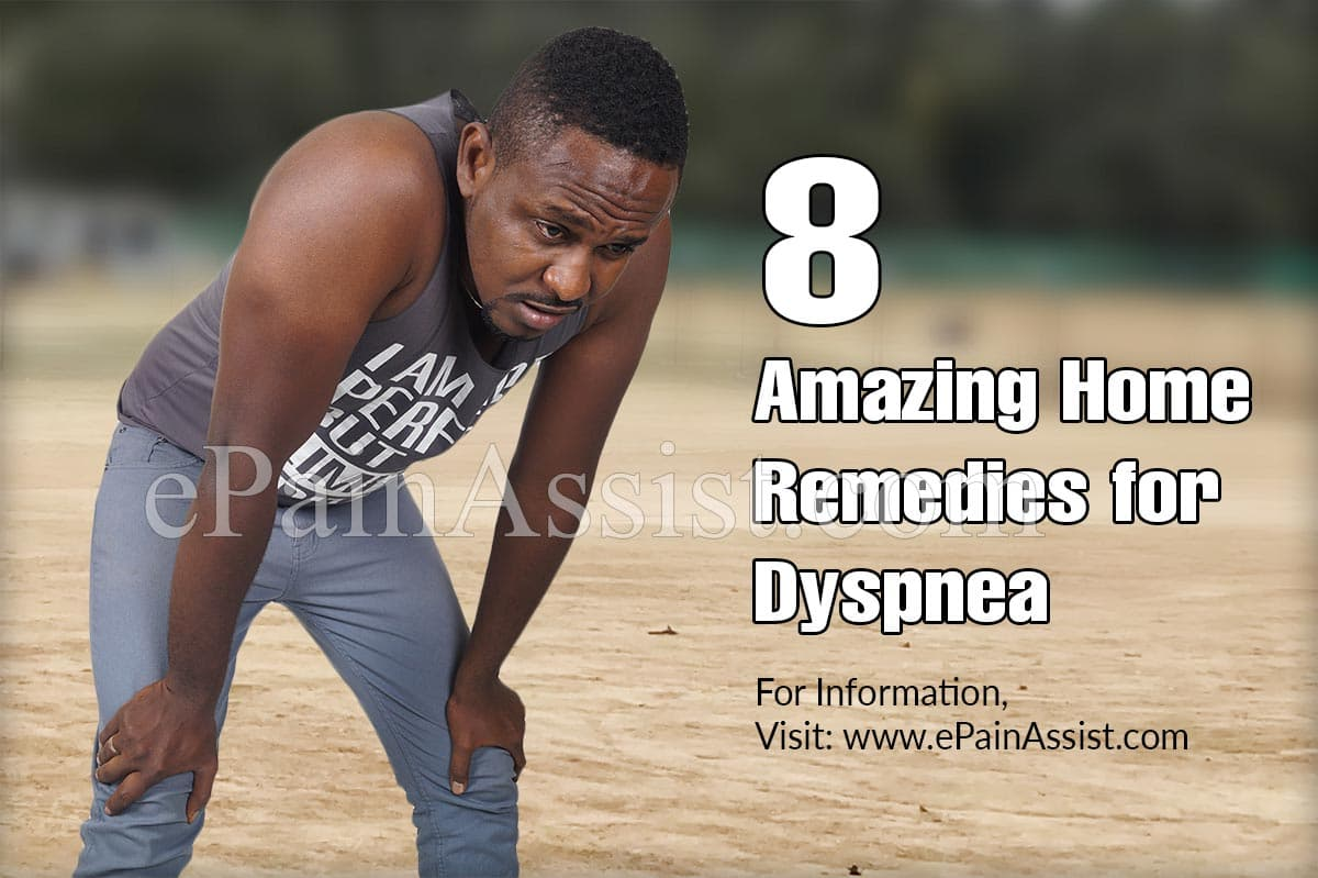 8 Amazing Home Remedies for Dyspnea (Shortness of Breath)