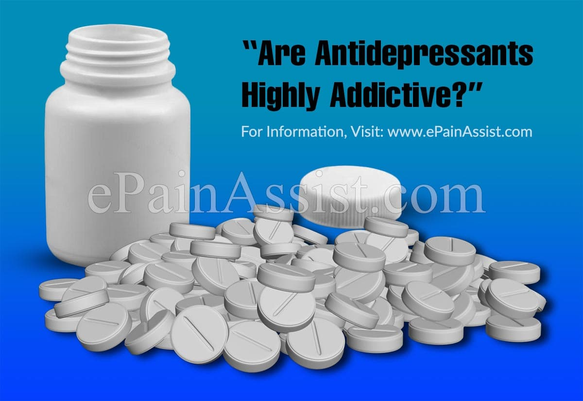 Are Antidepressants Highly Addictive?