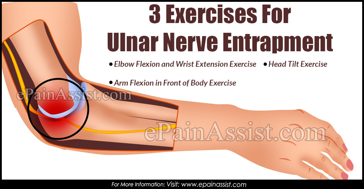 3 Exercises For Ulnar Nerve Entrapment