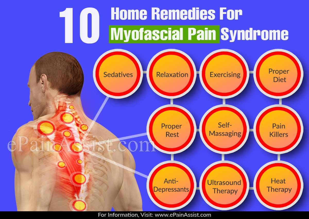 Home Remedies For Myofascial Pain Syndrome
