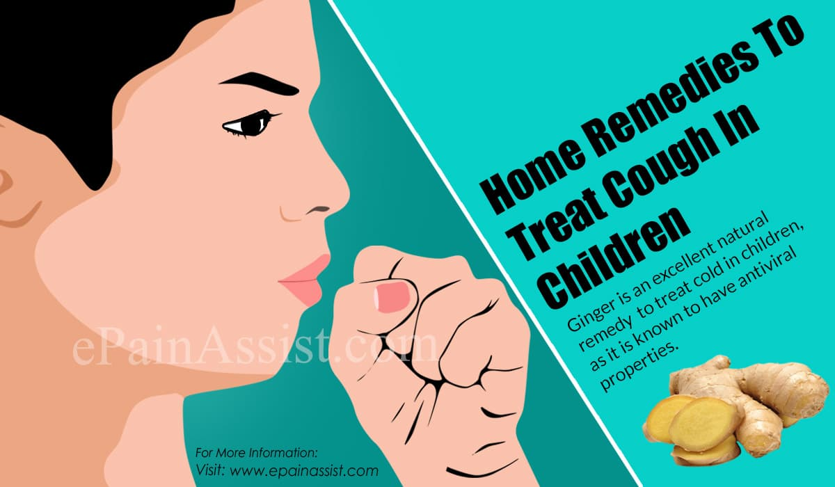 Home Remedies To Treat Cough In Children