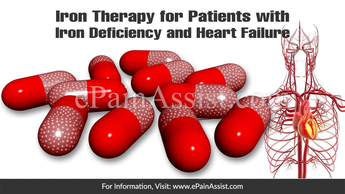 Iron Therapy for Patients with Iron Deficiency and Heart Failure