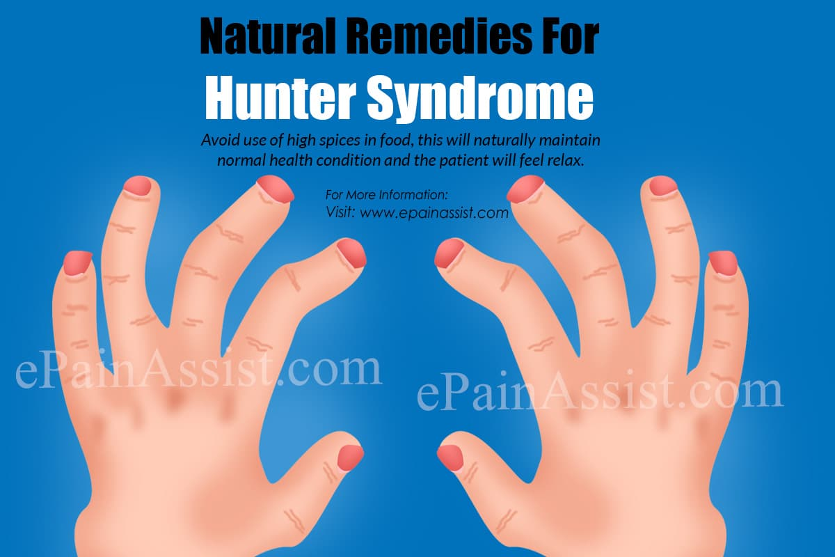 Natural Remedies For Hunter Syndrome