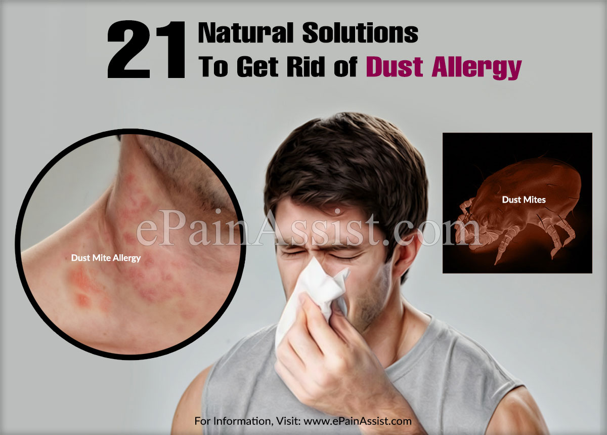 21 Natural Solutions To Get Rid of Dust Allergy