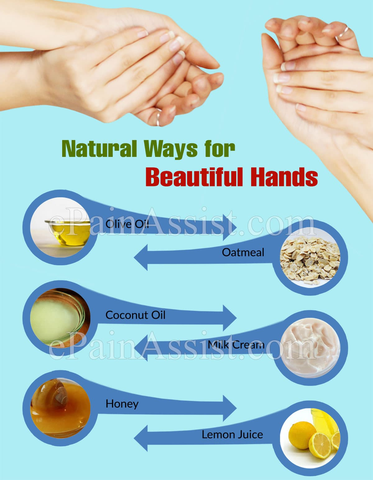 Natural Ways for Beautiful Hands