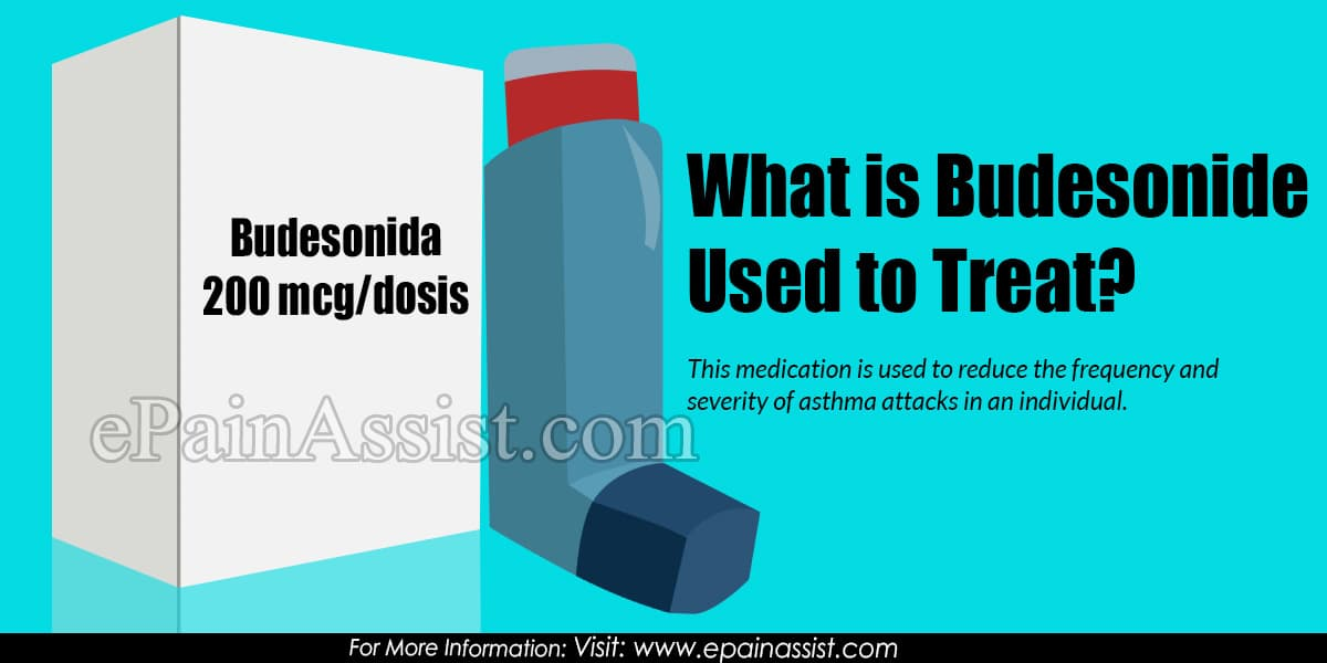 What is Budesonide Used To Treat & What are its Dosage, Side Effects?