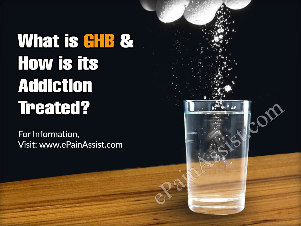 What is GHB & How is its  Addiction Treated?