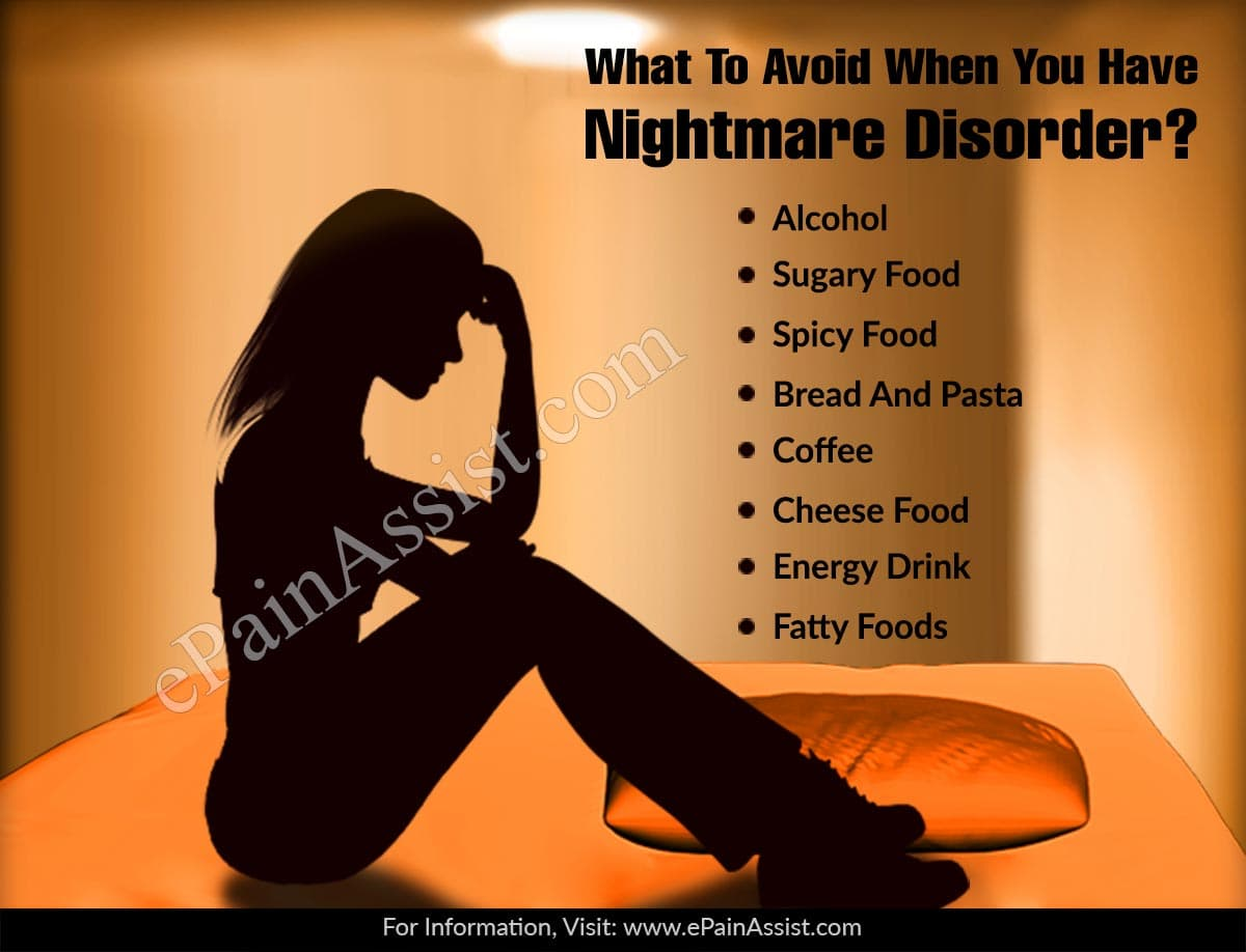 What To Avoid When You Have Nightmare Disorder?