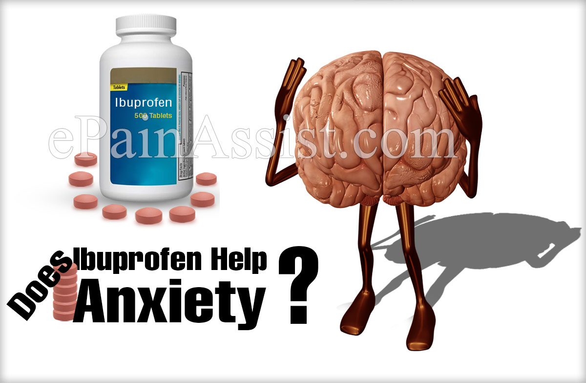 Does Ibuprofen Help Anxiety?