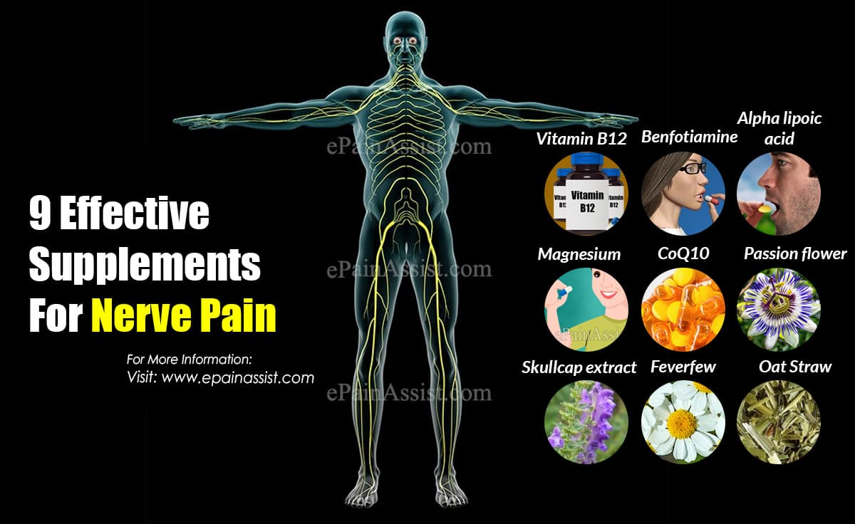 9 Effective Supplements For Nerve Pain