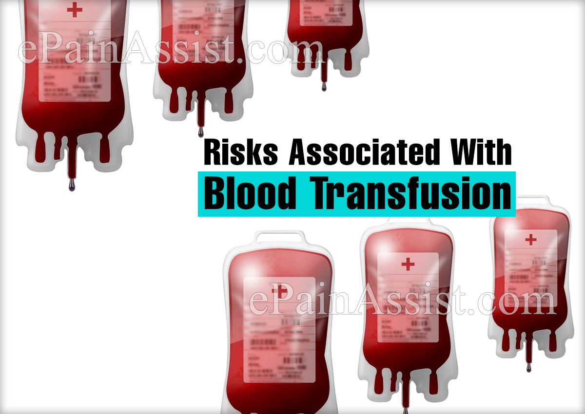 Risks Associated With Blood Transfusion