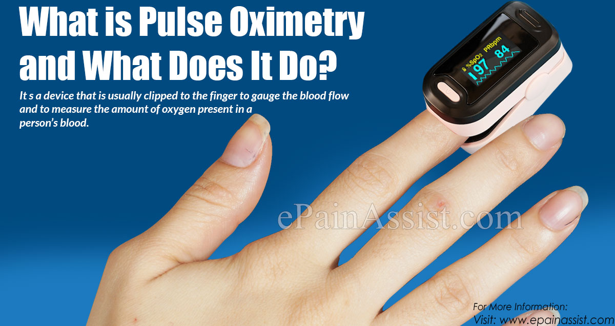 What is Pulse Oximetry and What Does It Do?