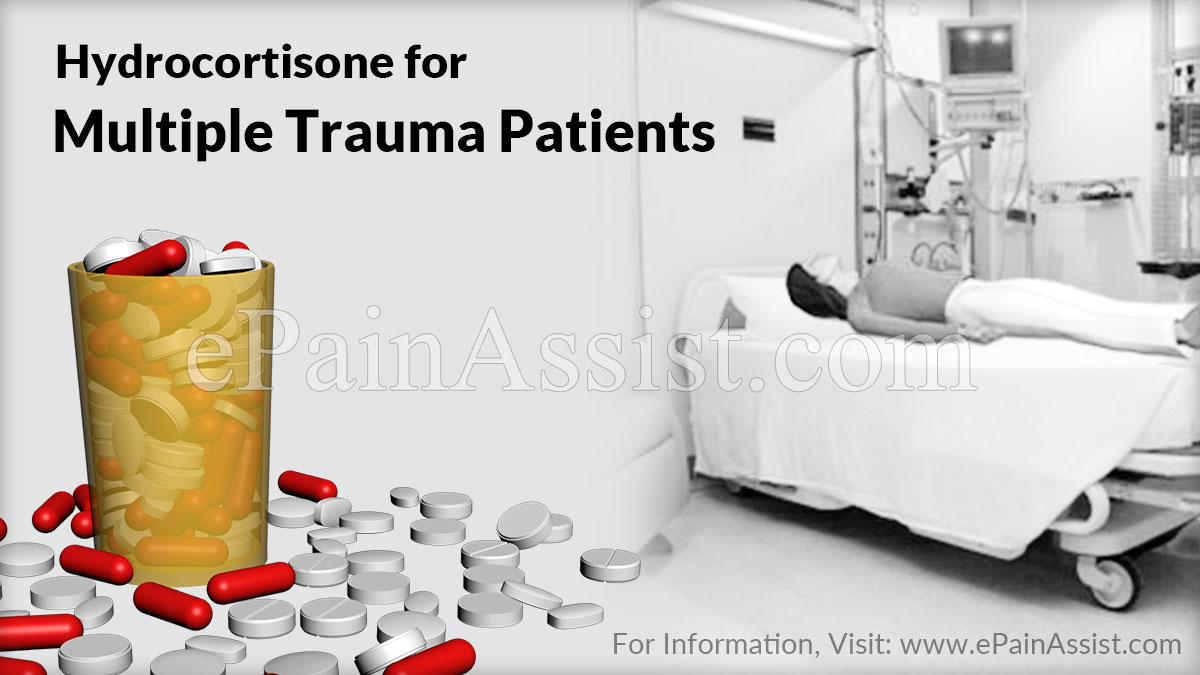 Hydrocortisone for Multiple Trauma Patients