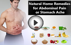 Simple Natural Remedies for Stomach Cramps or Abdominal Pain