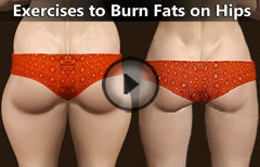 5 Best lower Body Exercises to Burn Fat on Hips, Gluteus and Thighs