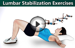 5 Lumbar Spine Stabilization Exercises for Back Pain Relief