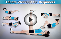 6 Tabata Exercises For Beginners At Home