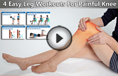 Simple Leg Exercises To Get Rid of Knee Pain