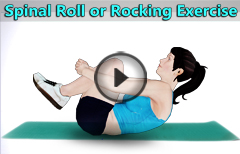 Spinal Roll or Rocking Exercises for Spinal Pain Relief